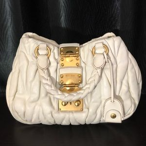 Miu miu Cream Bag